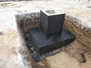 фундамент под колонну